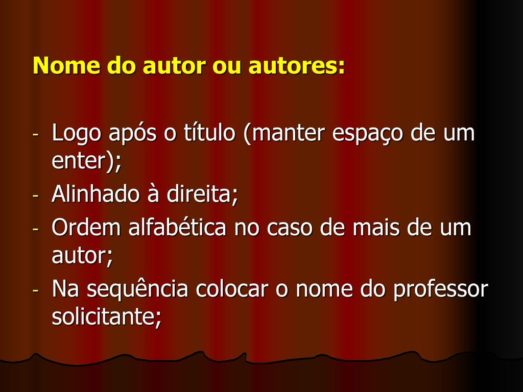 Nome do autor ou autores: