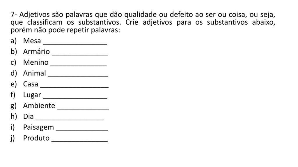 c5821ca26 Top Five O Que Sao Substantivos Adjetivos / Fullservicecircus
