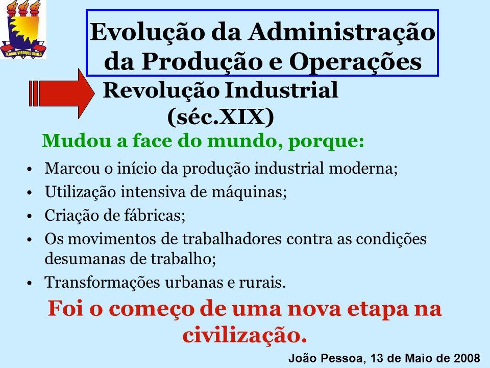 Revolução Industrial (séc.XIX)