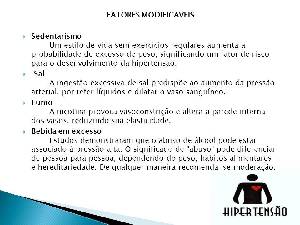 FATORES MODIFICAVEIS