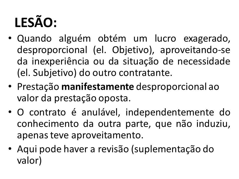 LESÃO: