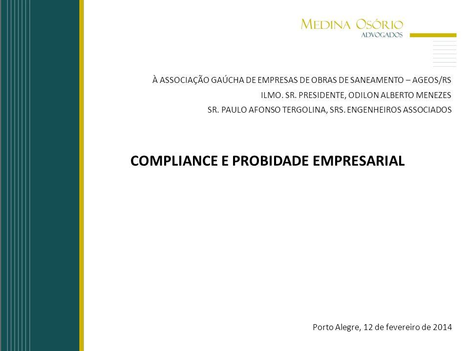 COMPLIANCE E PROBIDADE EMPRESARIAL