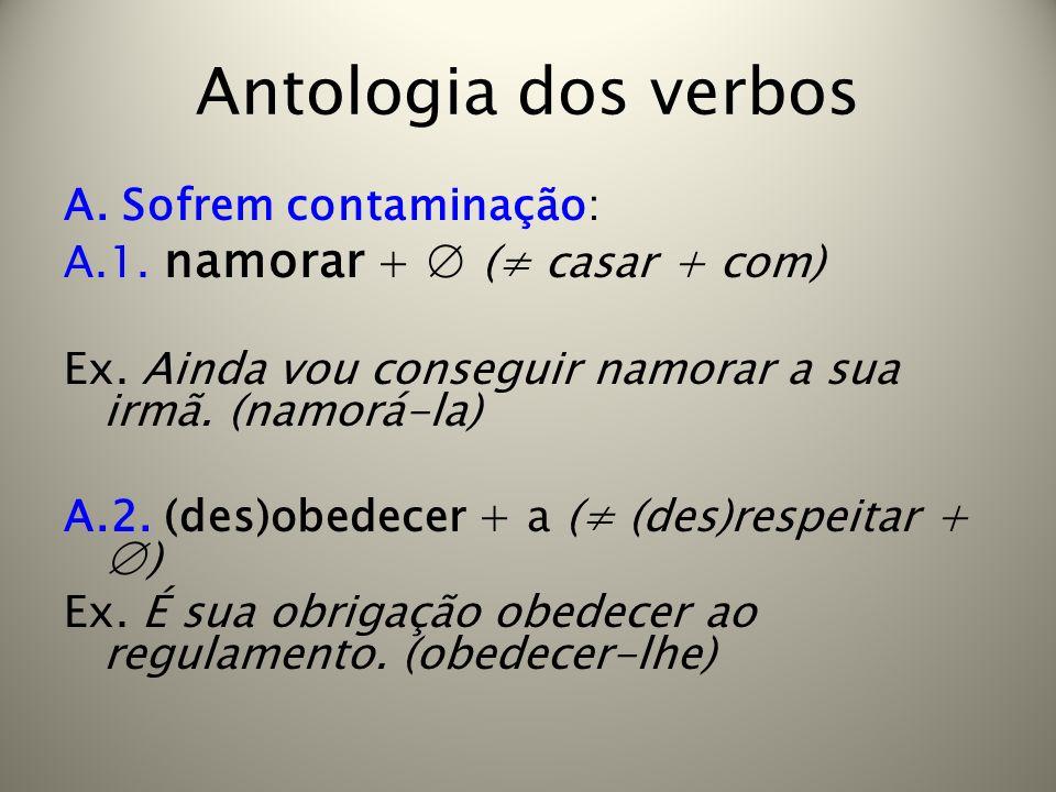 Antologia dos verbos