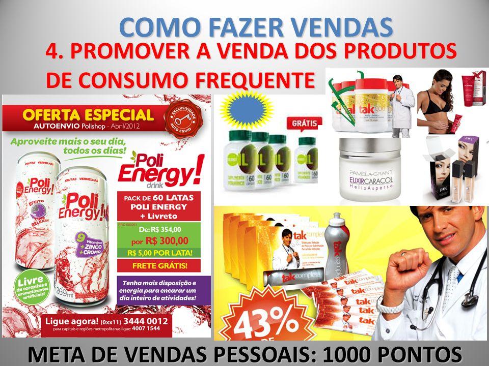 COMO FAZER VENDAS 4. PROMOVER A VENDA DOS PRODUTOS