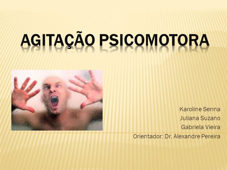 AGITAÇÃO PSICOMOTORA Karoline Senna Juliana Suzano Gabriela Vieira
