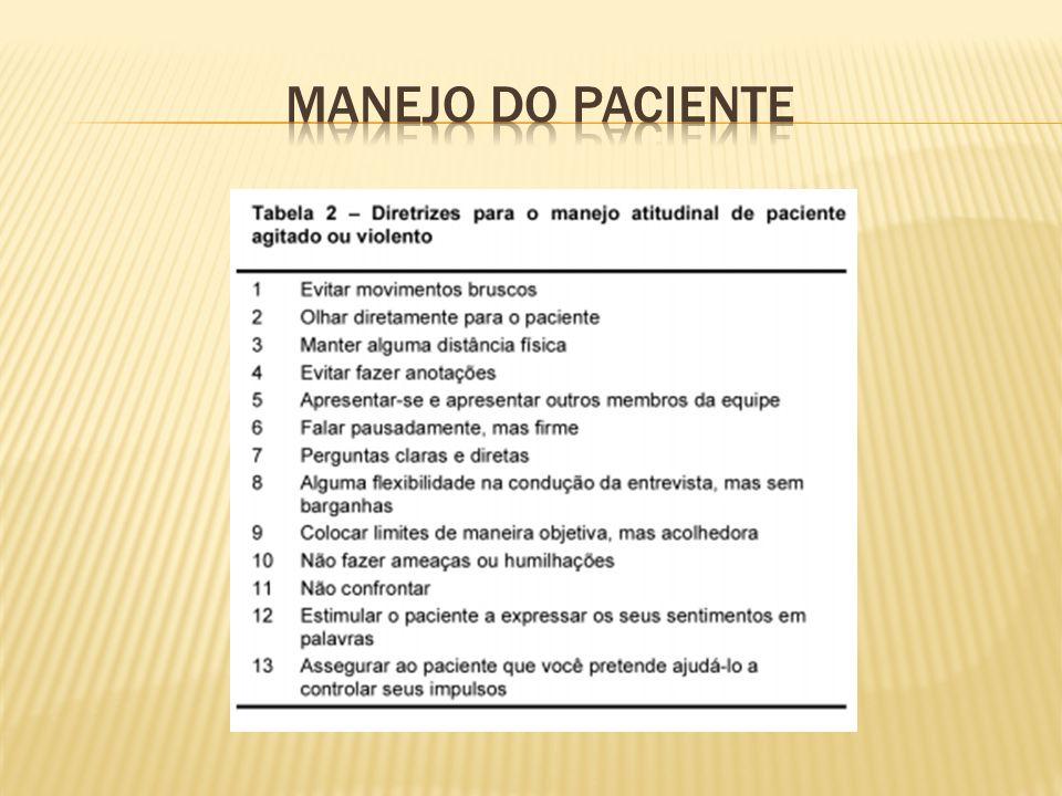 MANEJO DO PACIENTE