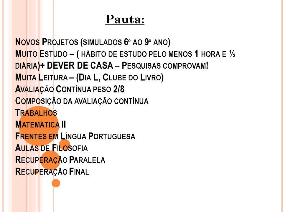 Pauta: