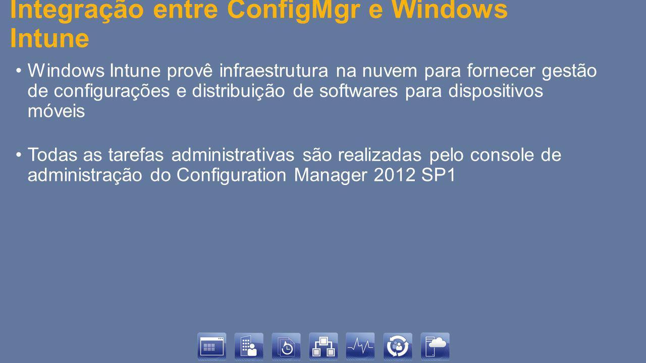 Integração entre ConfigMgr e Windows Intune