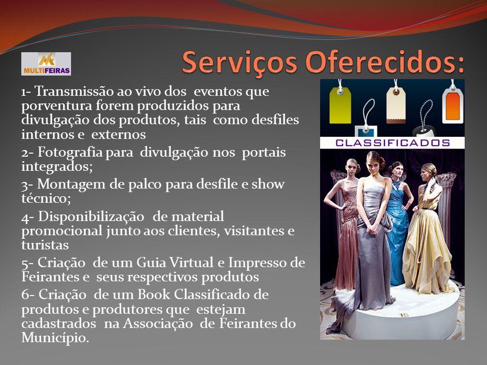 Serviços Oferecidos: