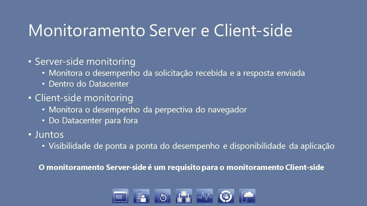 Monitoramento Server e Client-side