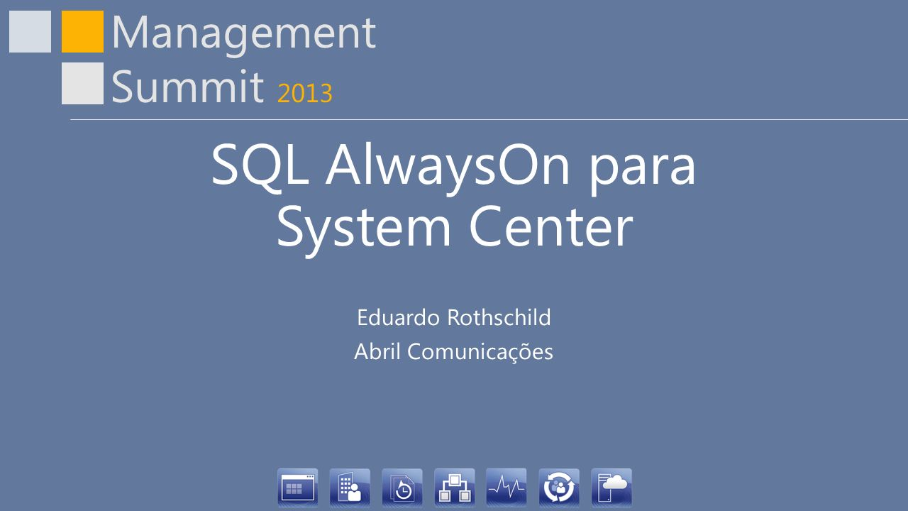 SQL AlwaysOn para System Center