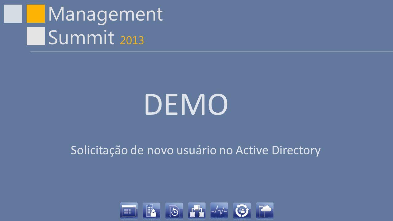 DEMO Solicitação de novo usuário no Active Directory