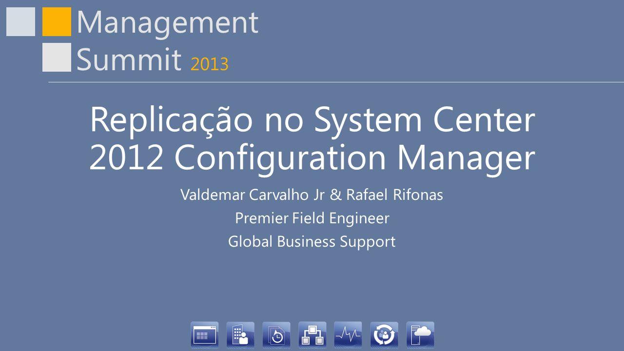 Replicação no System Center 2012 Configuration Manager
