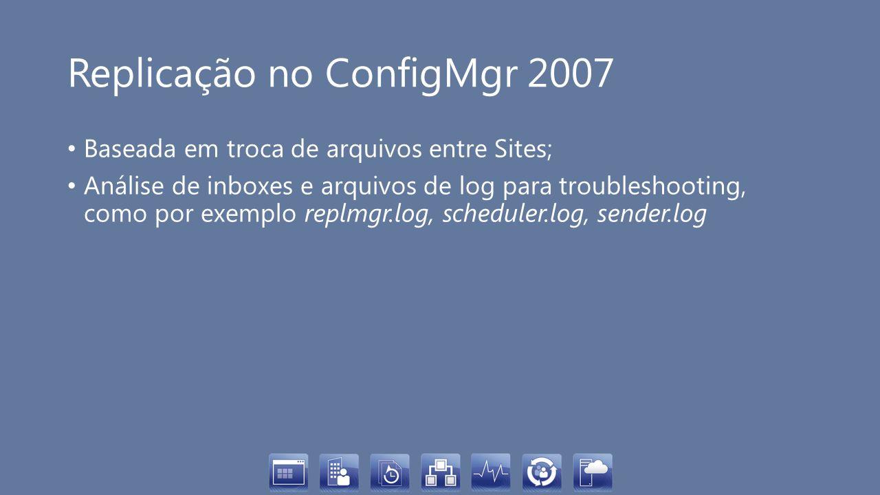 Replicação no ConfigMgr 2007