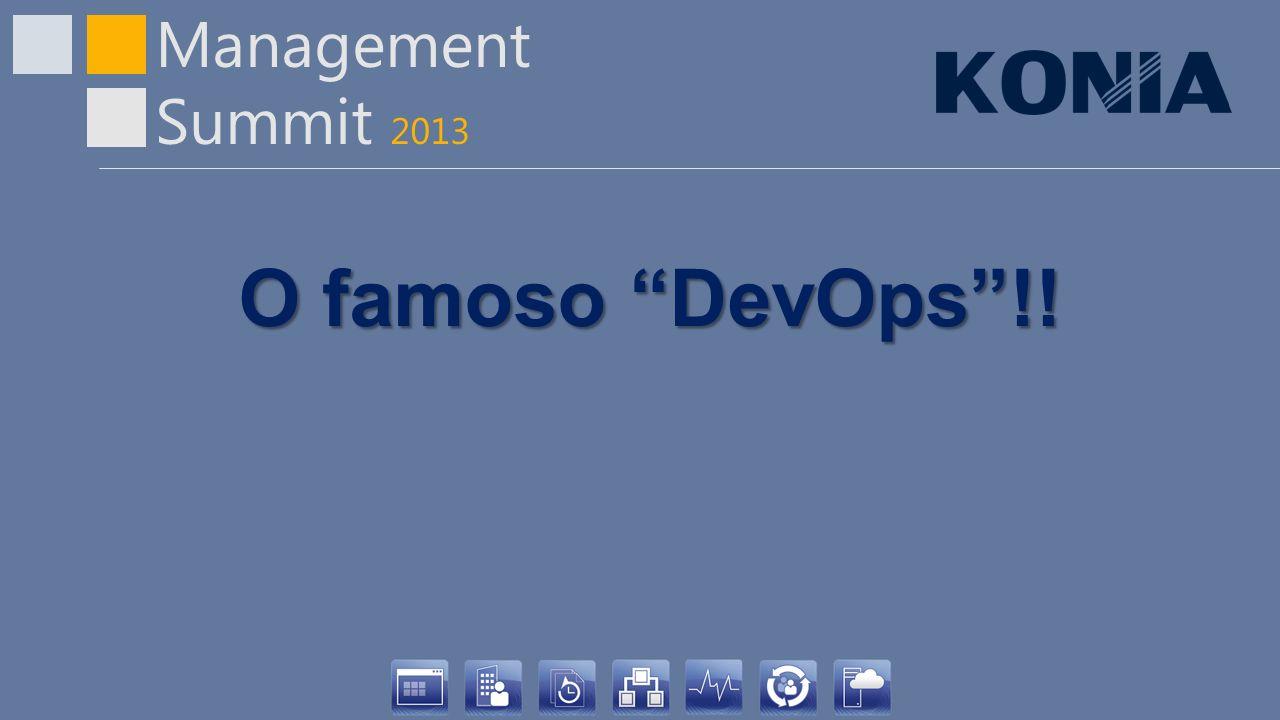 O famoso DevOps !!
