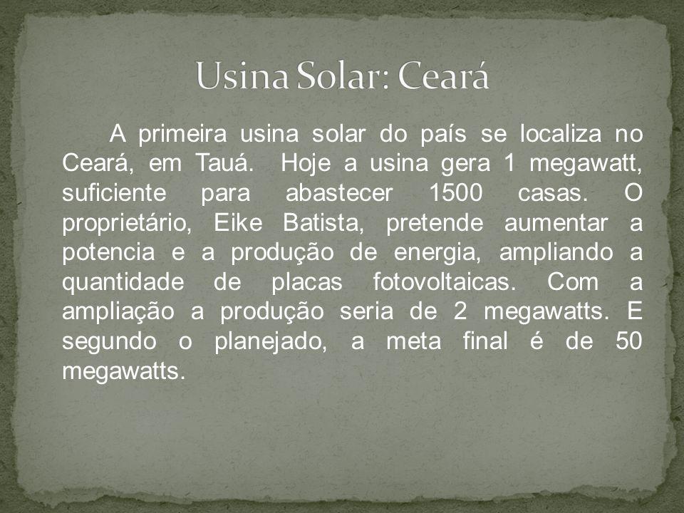 Usina Solar: Ceará