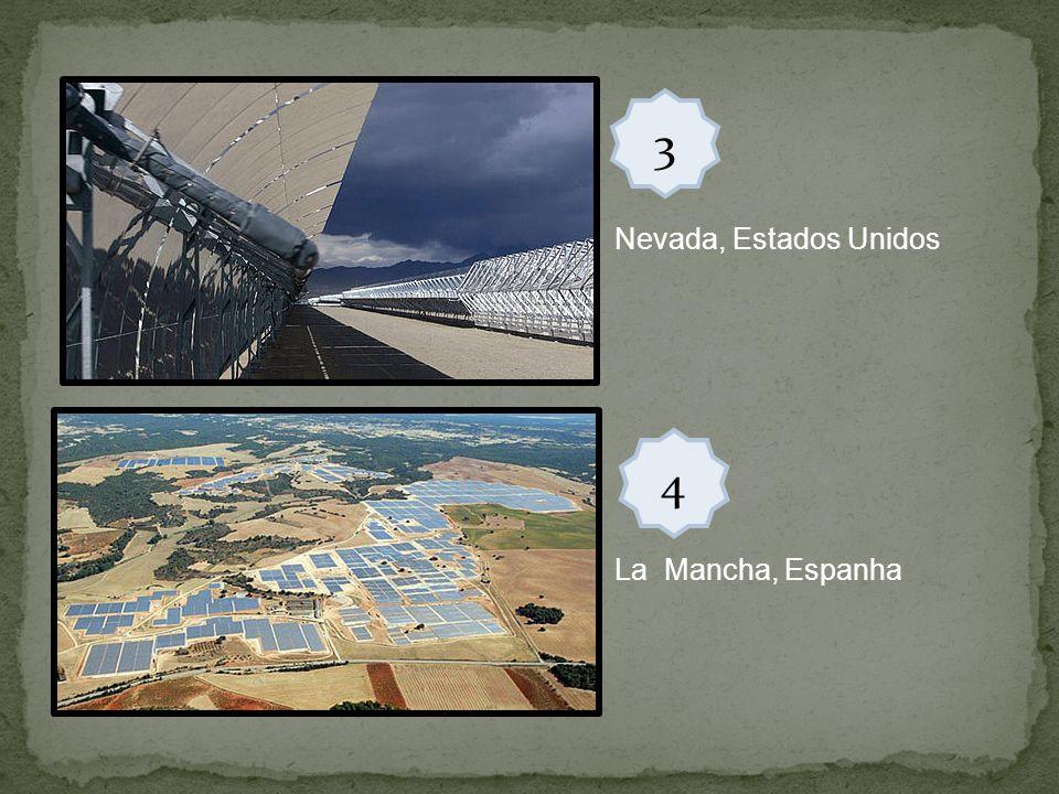 3 Nevada, Estados Unidos 4 La Mancha, Espanha