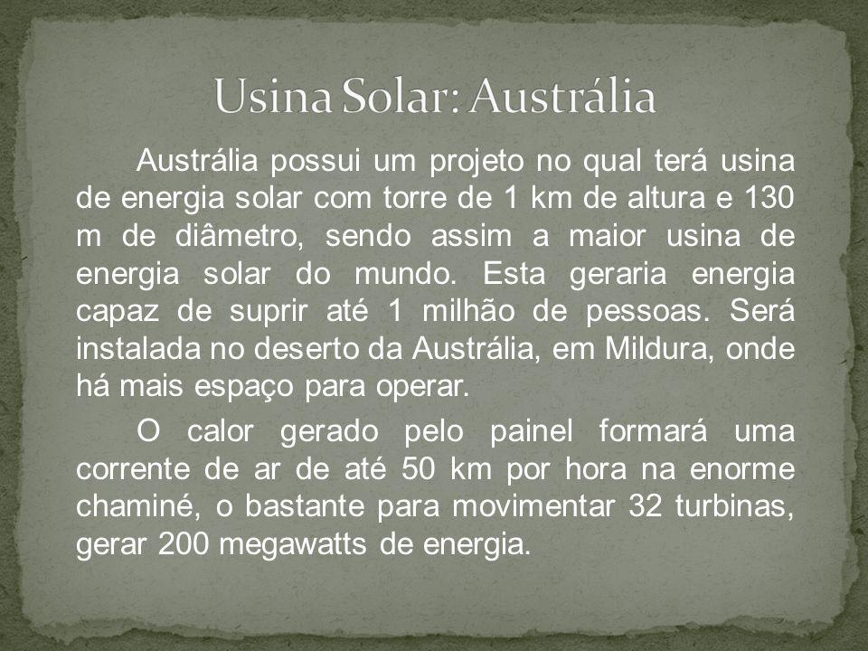 Usina Solar: Austrália