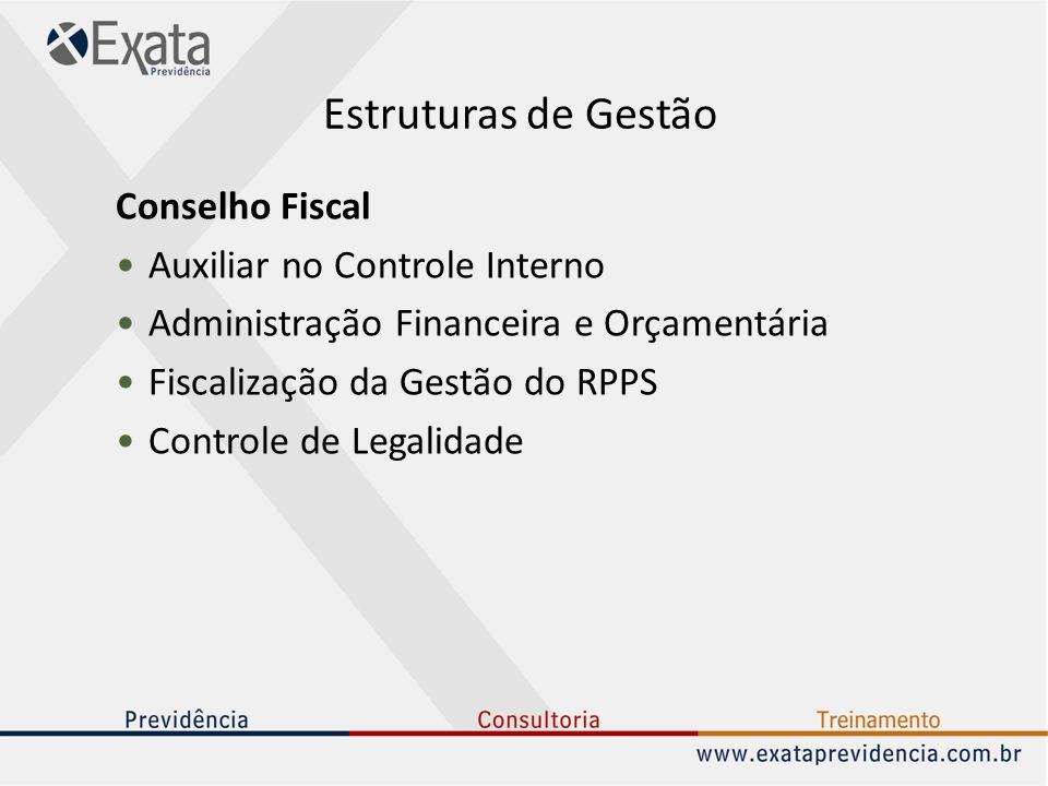 Estruturas de Gestão Conselho Fiscal Auxiliar no Controle Interno
