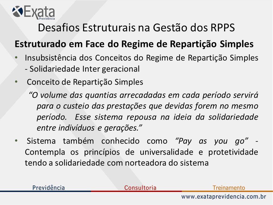Desafios Estruturais na Gestão dos RPPS