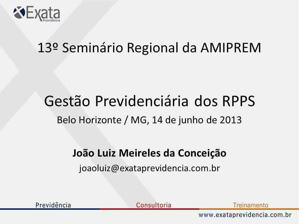 13º Seminário Regional da AMIPREM