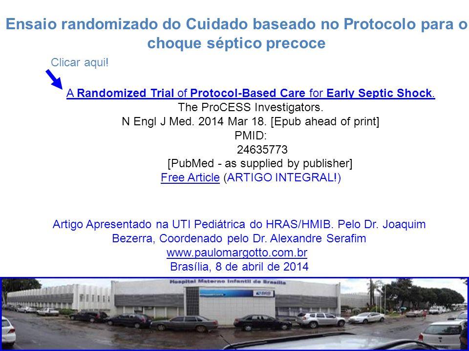 Ensaio randomizado do Cuidado baseado no Protocolo para o