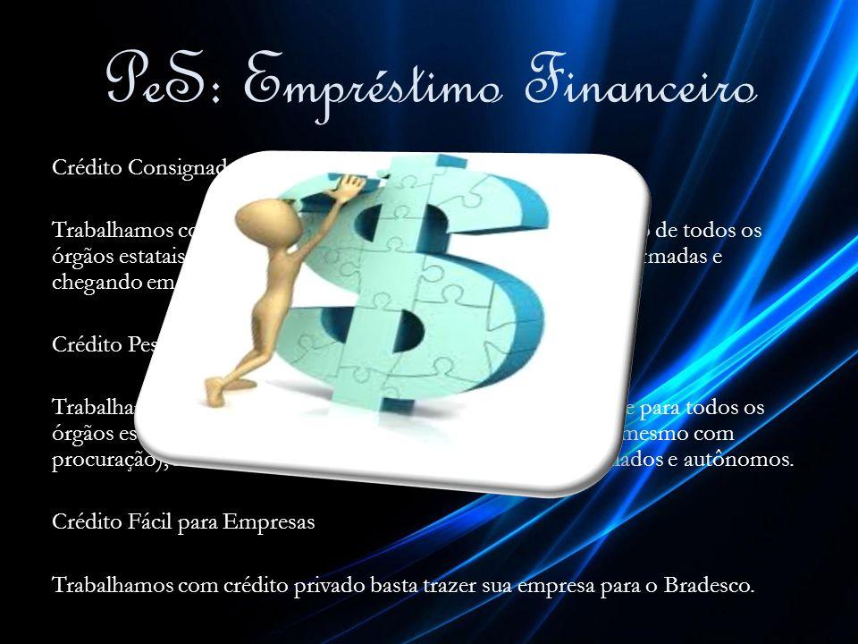 PeS: Empréstimo Financeiro