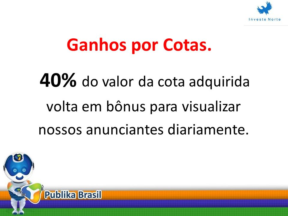 40% do valor da cota adquirida