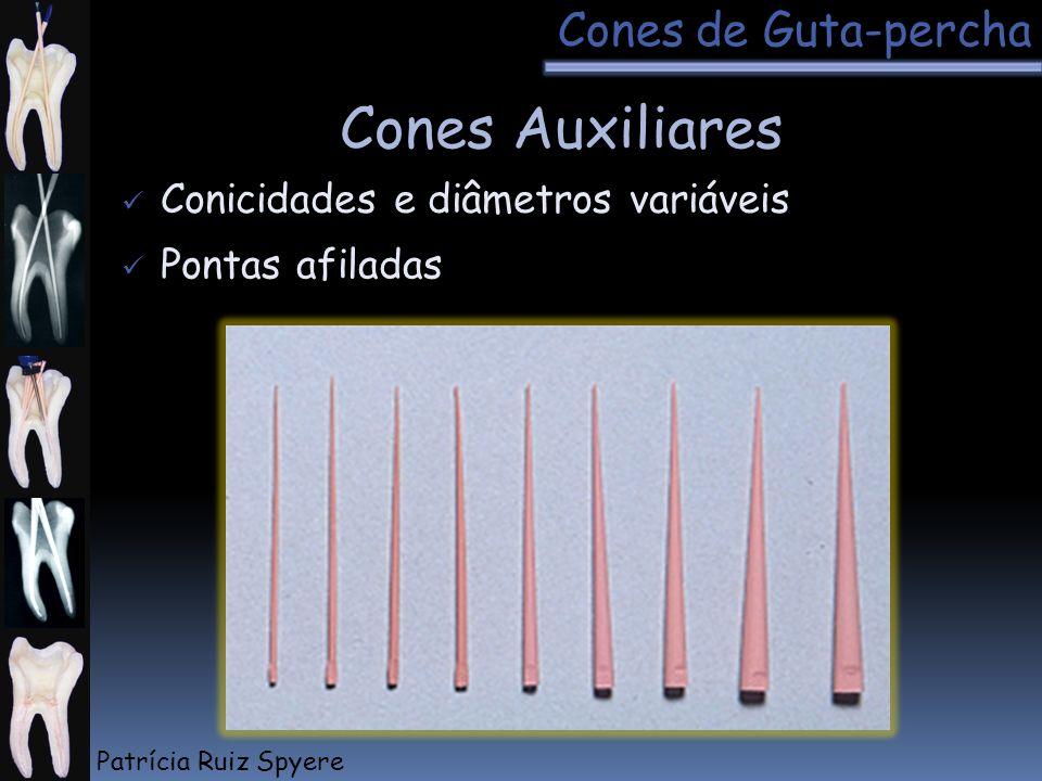 Cones Auxiliares Cones de Guta-percha