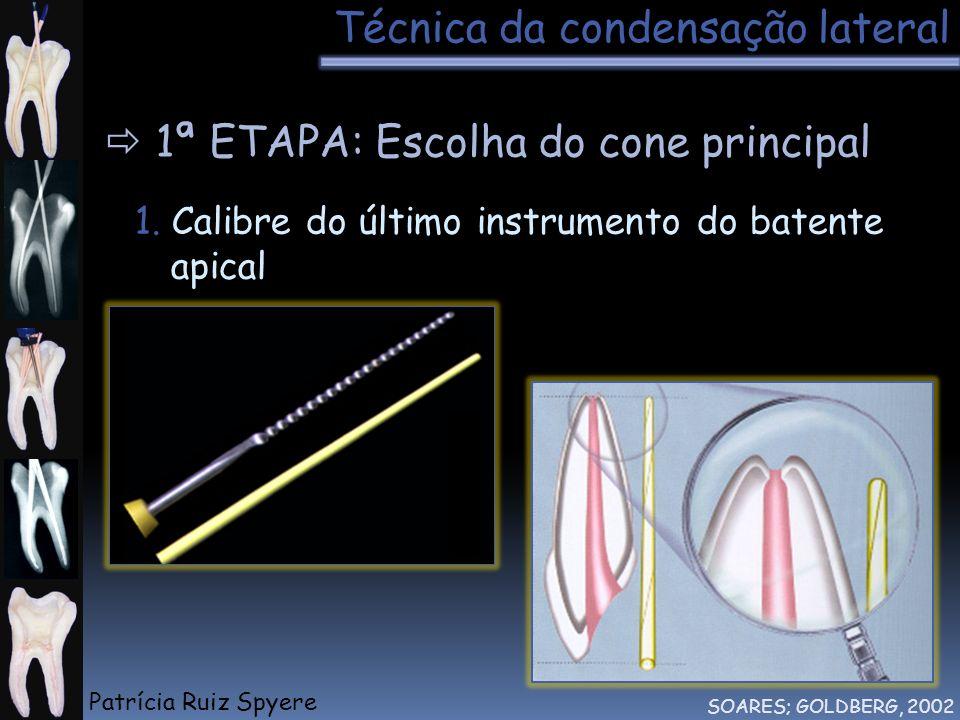 Técnica da condensação lateral