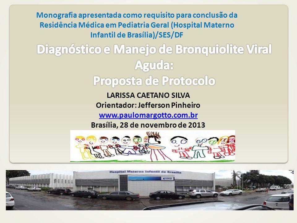 Orientador: Jefferson Pinheiro Brasília, 28 de novembro de 2013