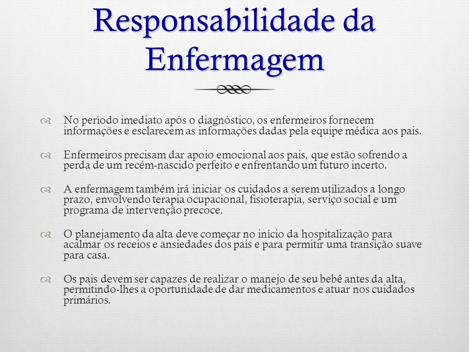 Responsabilidade da Enfermagem