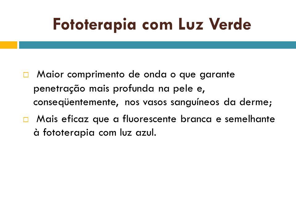 Fototerapia com Luz Verde