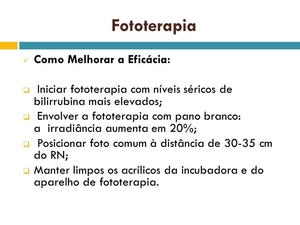 Fototerapia Como Melhorar a Eficácia: