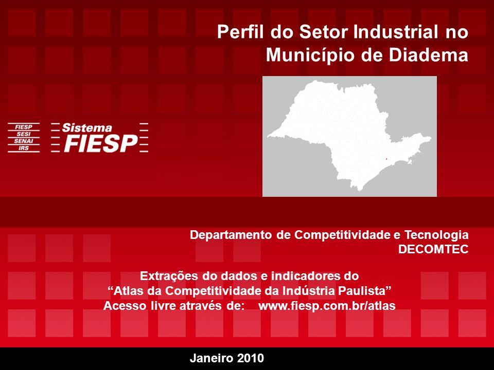 Perfil do Setor Industrial no Município de Diadema
