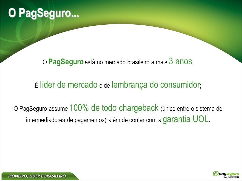 O PagSeguro...