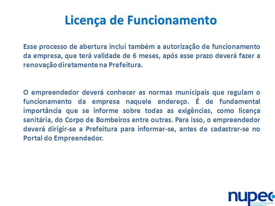 Licença de Funcionamento