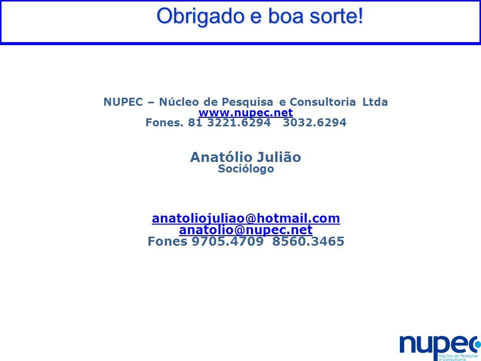 NUPEC – Núcleo de Pesquisa e Consultoria Ltda
