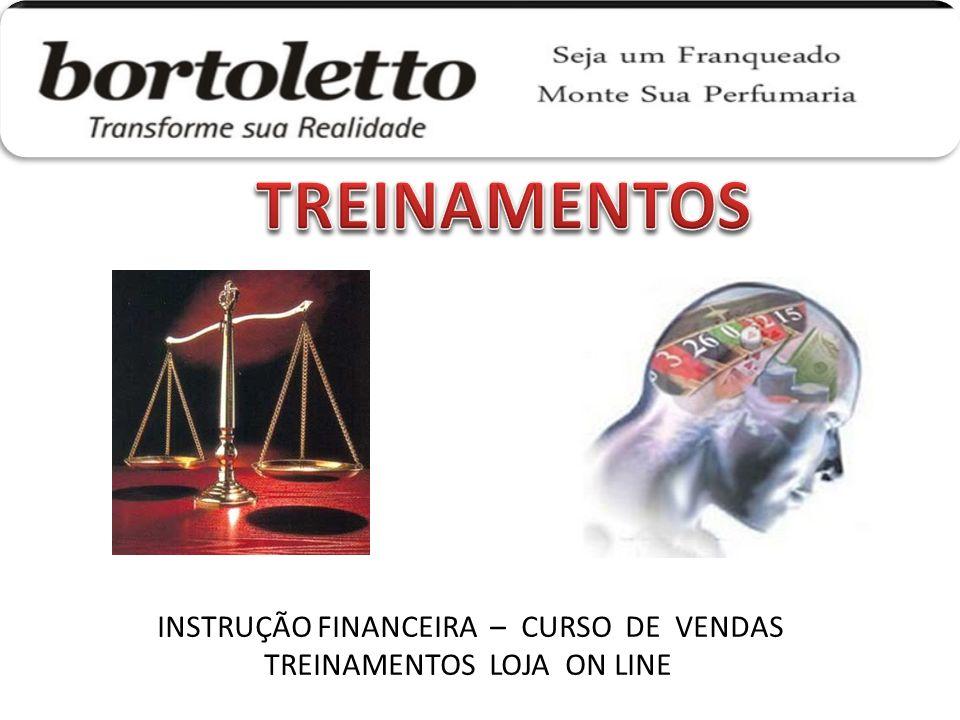 TREINAMENTOS INSTRUÇÃO FINANCEIRA – CURSO DE VENDAS