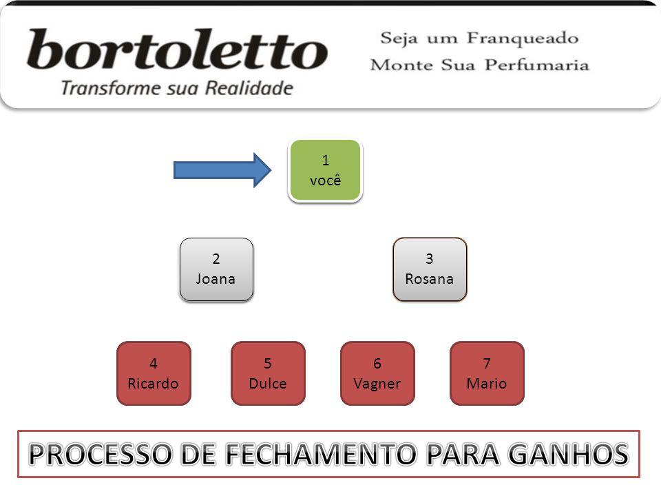 PROCESSO DE FECHAMENTO PARA GANHOS PROCESSO DE FECHAMENTO PARA GANHOS