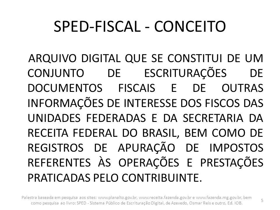 SPED-FISCAL - CONCEITO