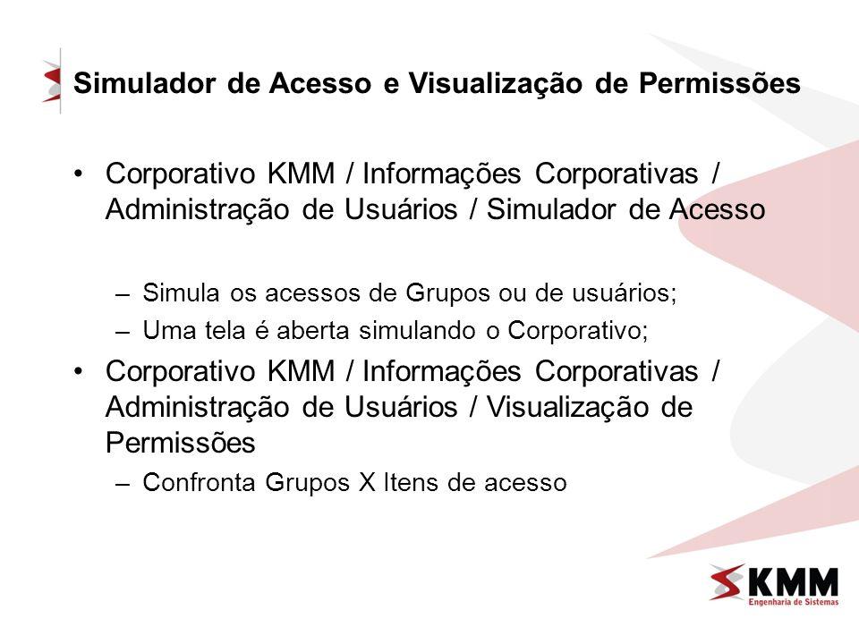 Simulador de Acesso e Visualização de Permissões