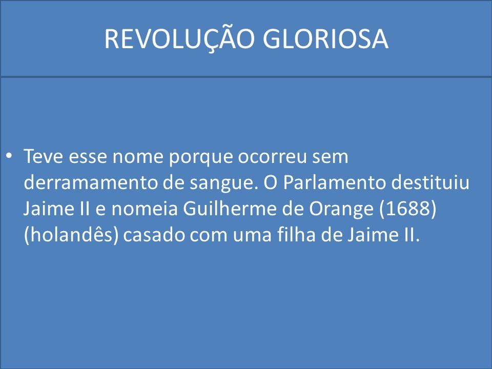 REVOLUÇÃO GLORIOSA