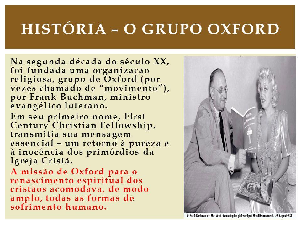 História – O Grupo Oxford
