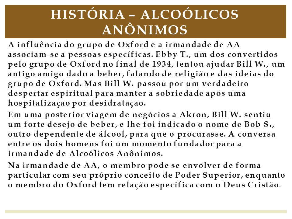 História – Alcoólicos Anônimos