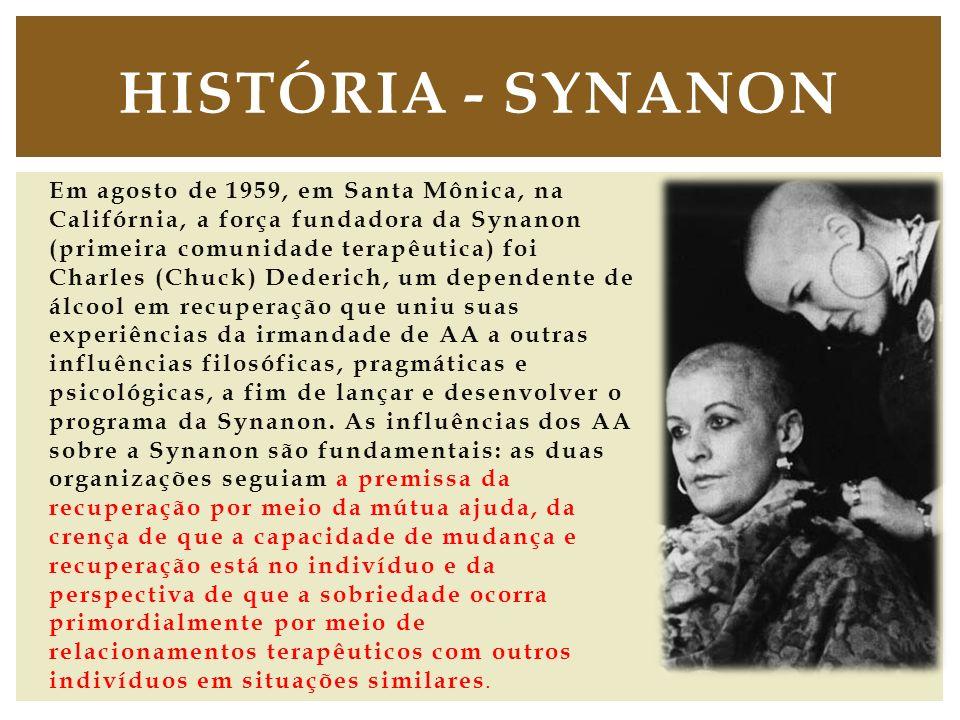 História - Synanon