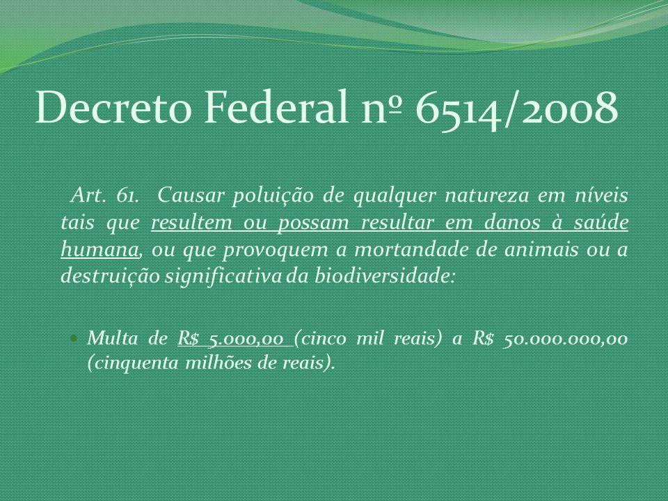 Decreto Federal nº 6514/2008