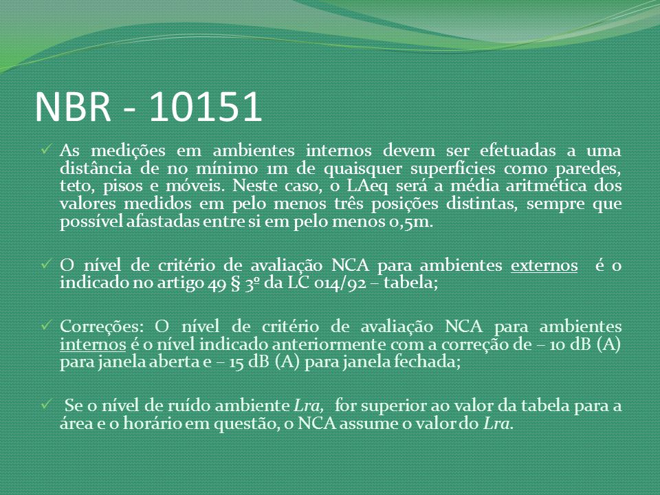 NBR - 10151