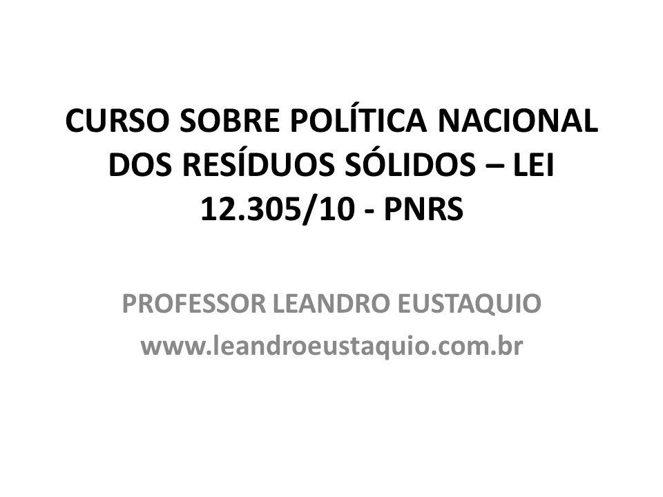 PROFESSOR LEANDRO EUSTAQUIO www.leandroeustaquio.com.br