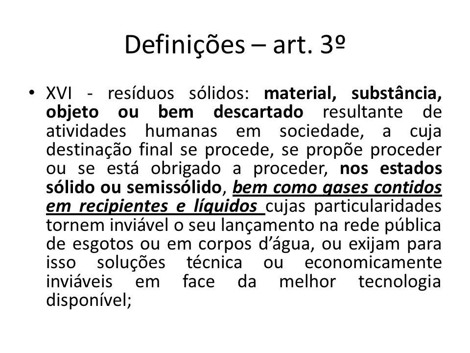 Definições – art. 3º